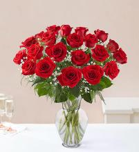 Ultimate Elegance with Red Roses