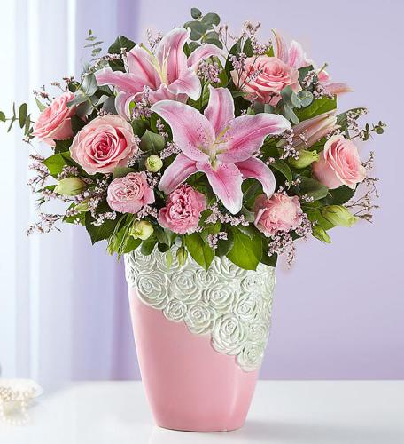 Cascading Rose & Lily Medley