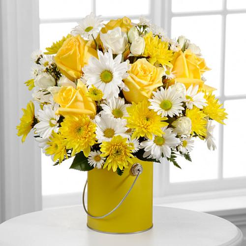 The Color Your Day With Sunshine Bouquet