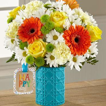 The Happy Day Birthday™ Bouquet by Hallmark