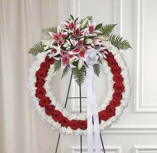 Forever Loved Standing Wreath