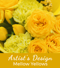 Florist Designed Yellow Bouquet