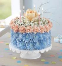 Coastal Birthday Cake
