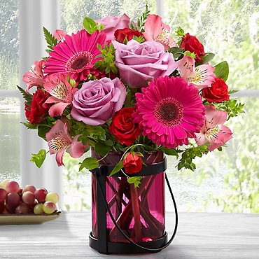 The Pink Exuberance™ Bouquet by Better Homes and Gardens&r
