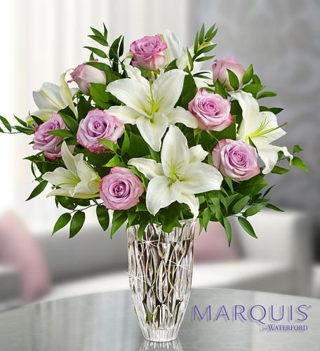 Marquis by Waterford with Purple Roses