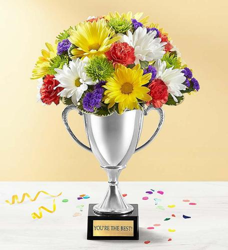 Trophy Bouquet To Say Thank You