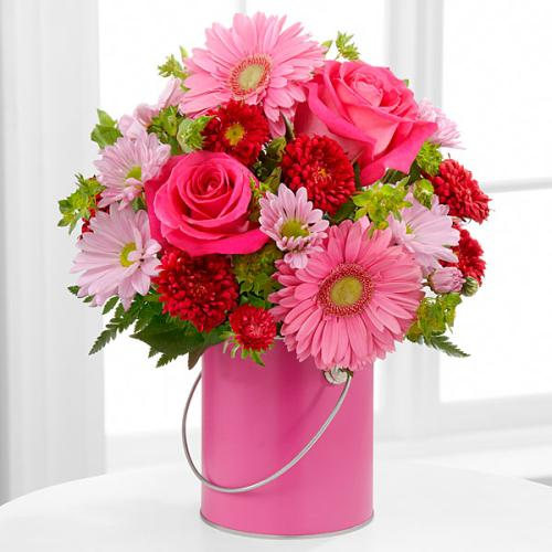 The Color Your Day With Happiness Bouquet