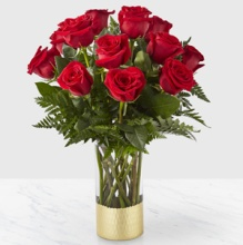Gorgeous Rose Bouquet- RED