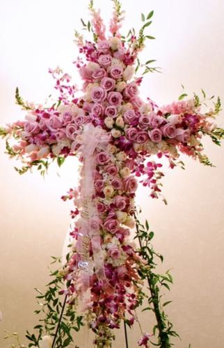Pink Orchid Cross