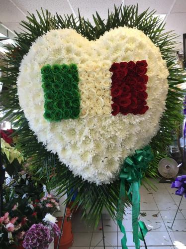 Heart with Italian Flag