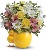 Sweet Peep Bouquet - Baby Pink