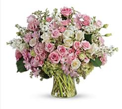Pink & White Abundance Arrangement