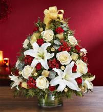 Christmas Spectacular Holiday Flower Tree