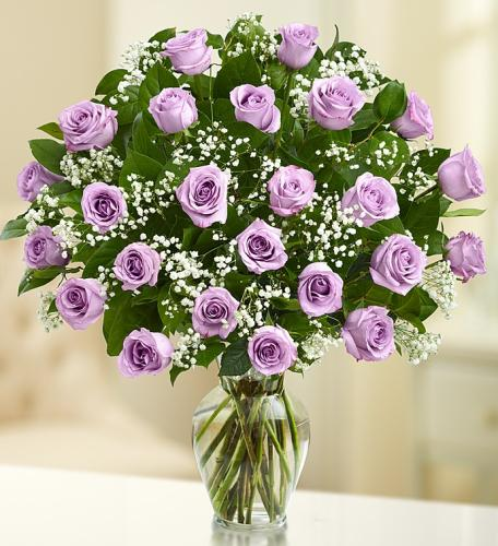 Ultimate Elegance Bouquet with Purple Roses